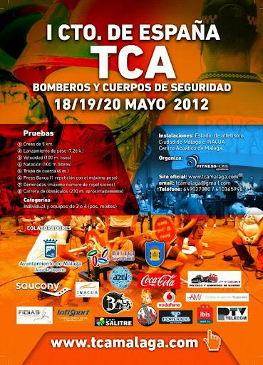 Cartel de Presentación del TCA