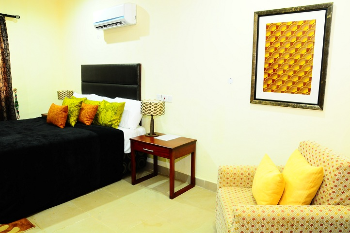 Ikogosi warm spring resort room