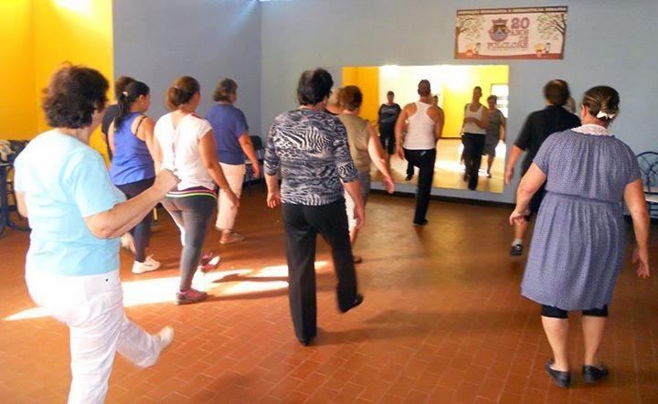 Junta de Freguesia de Penajóia continua a promover a realização de aulas de danças latinas/fitness para adultos e seniores