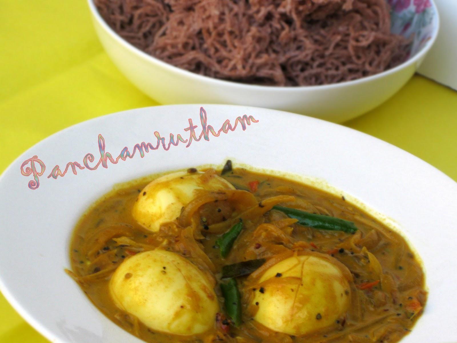 Kerala Egg Curry In Coconut Milk