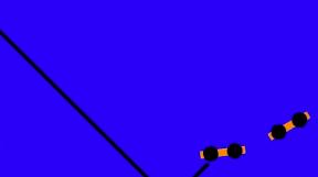 坂をころりんトロッコジャンプ with Box2D – Mzlog 水島企画