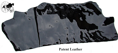 Finest Quality Traditional English Black Patent Leather Half Side 3
