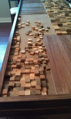 How To Make Wood Mosaic Wall Art Dave And Kelly Davis