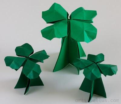 Clover - New Origami Model