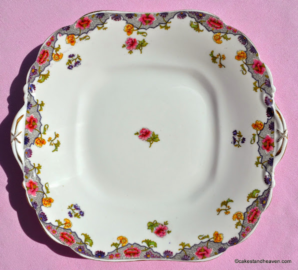 Aynsley antique cake plate pattern no. A3541