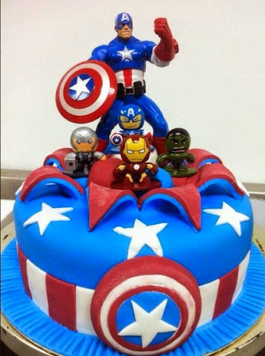 50 Best Captain America Birthday Cakes Ideas And Designs Page 5 of