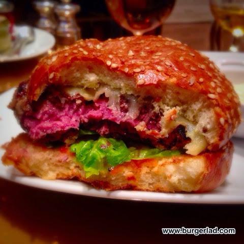 The Bar at The Dorchester Wagyu Burger