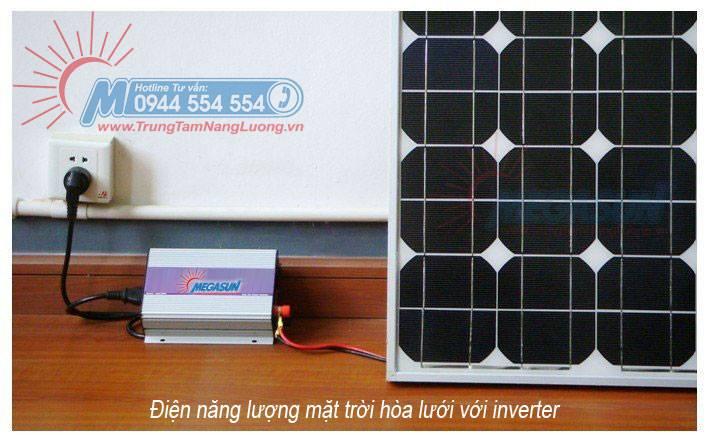 Hình minh họa Bộ Inverter ( bộ chuyển đổi điện) hòa lưới điện