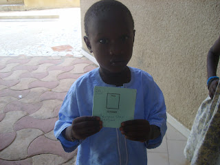 Mansour Sarr  632 ° 31/8/2008 werd ingeschreven in de jardin d'enfant nov 2012 kleinzoon Marembe