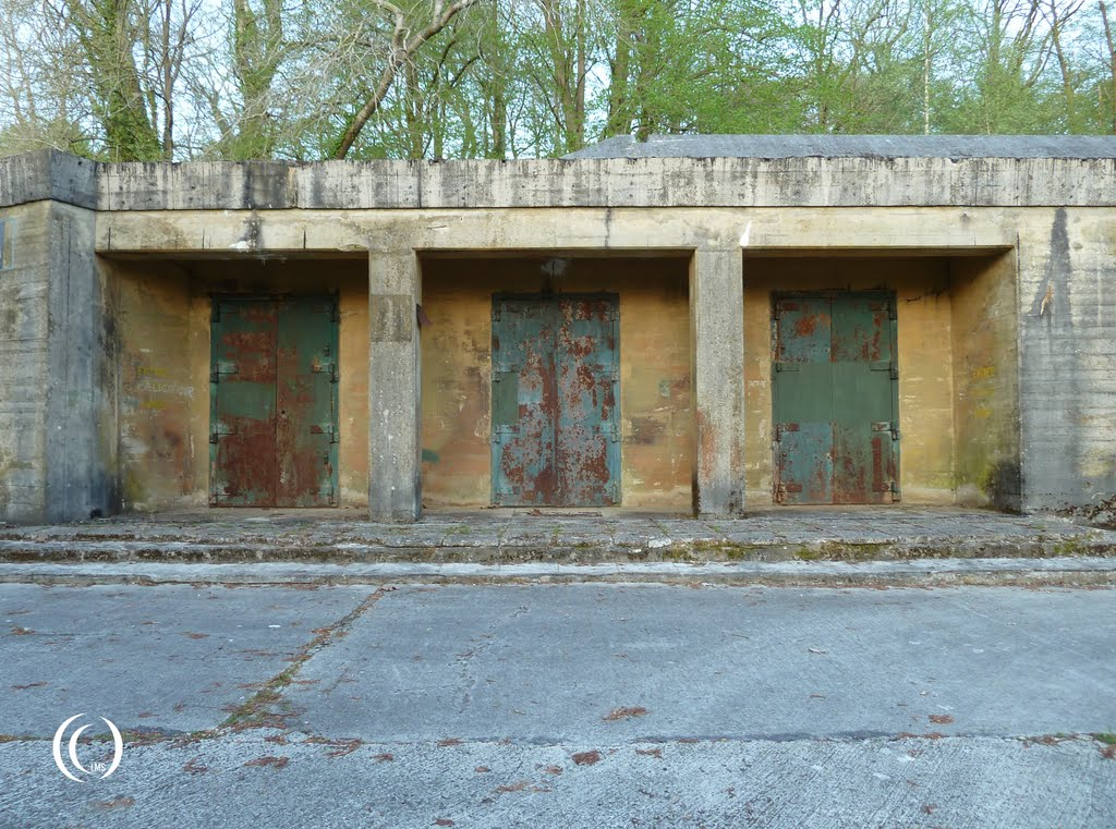 main entrance doors to fuhrer bunker 001 at margival