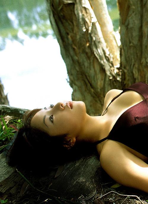 Beautiful Azusa Takagi Posing