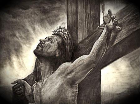 Jēzus pie krusta Golgātā - zudušas visas cerības