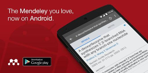 Mendeley on Android