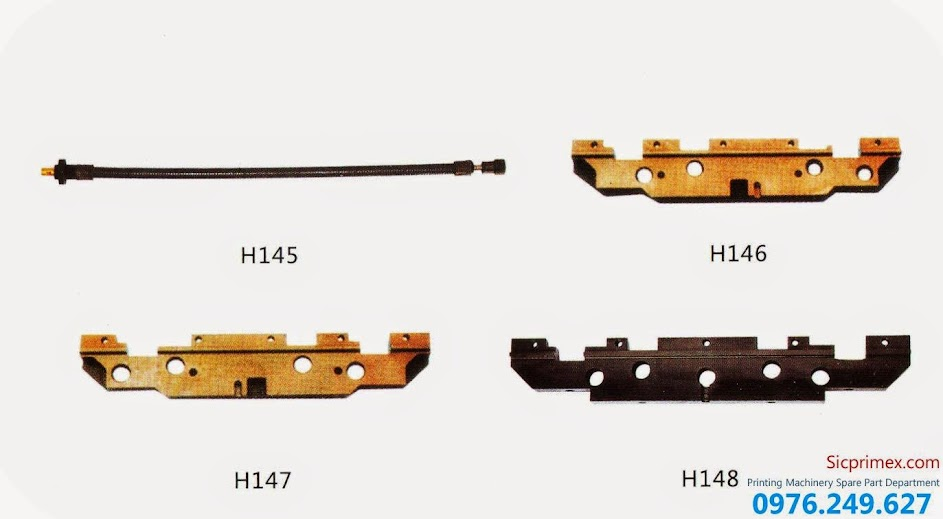 Phụ tùng máy in chính hãng Heidelberg chất lượng cao giá rẻ H145-148