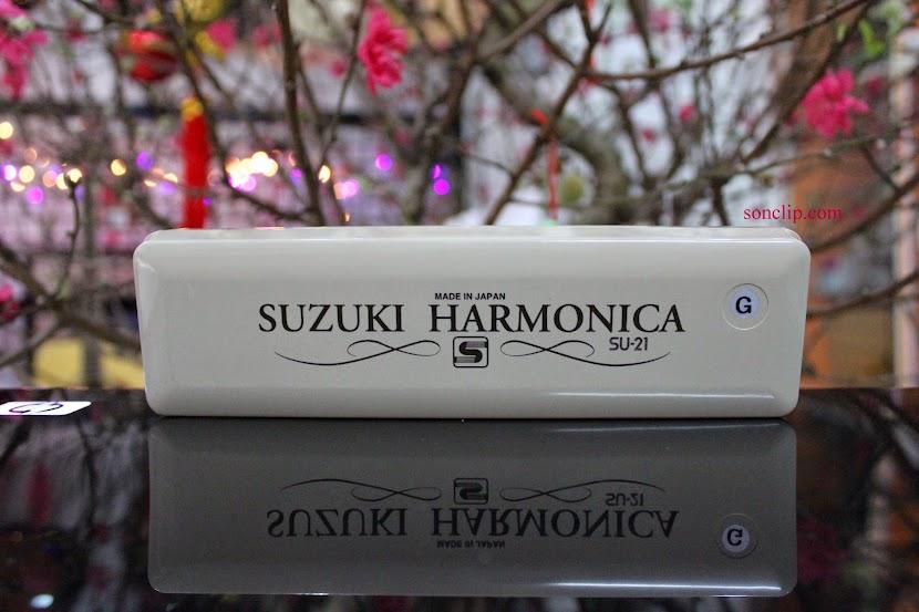Kèn Harmonica - Suzuki Tremolo Special SU-21 (key G)