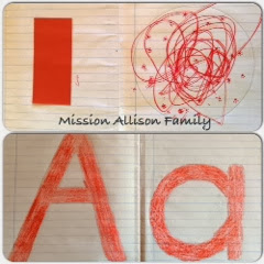 Tot school letter A and number 1