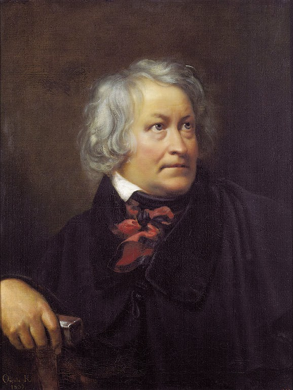 Orest Kiprensky - Portrait of Bertel Thorvaldsen, 1833