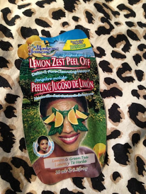 Lemon Zest Peel Off Montagne Jeunesse Face Mask
