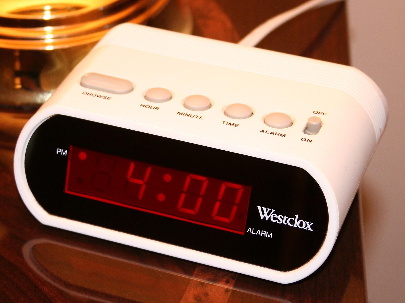 Basic digital alarm clock