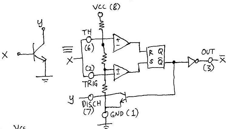 hobi mikro 555 logic designing digital circuits with 555s only rh hobimikro blogspot com Electronic Circuit Design designing digital logic circuits