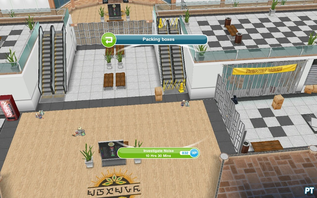 sims freeplay mall quest