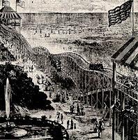 Montagnes russes Coney Island 1884