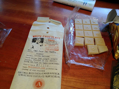 White Chocolate from Ecuador by Askinosie.