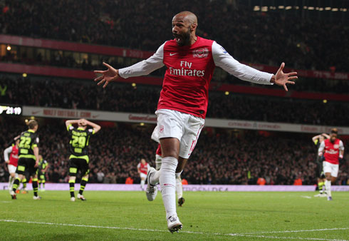 Thierry Henry, Arsenal - Leeds
