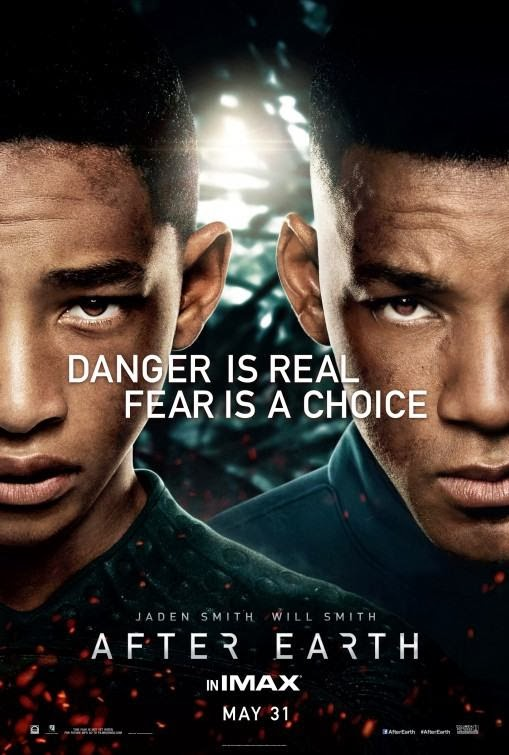 Poster Of After Earth (2013) Full Movie Hindi Dubbed Free Download Watch Online At Alldownloads4u.Com