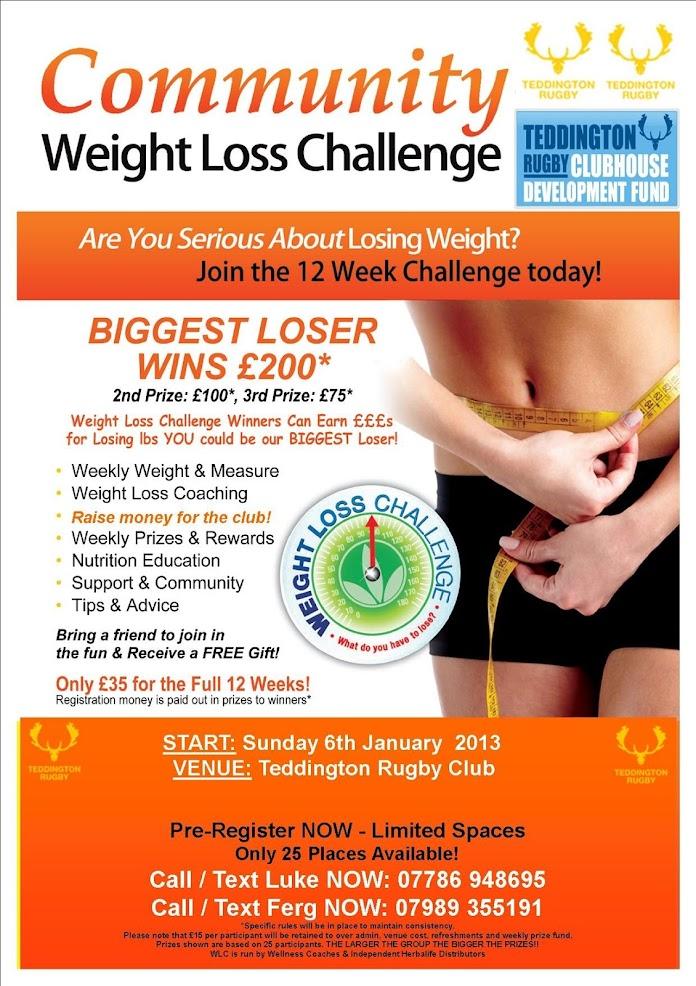 inTouch - For a Healthy Lifestyle - News - Teddington RFC