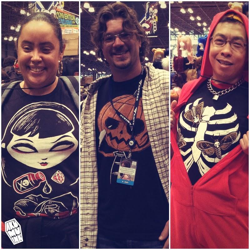 nycc2014, nycc skull shirt, nycc tshirt, nycc exhibitor, nycc skull artist, nycc skull art, nycc skulls, nycc emo tshirt, nycc goth