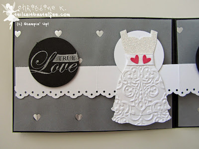 stampin up, follow your heart, wedding, hochzeit, punch art bride, dress up, kleiderduo