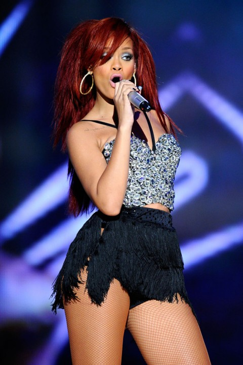 Rihanna Performances And Celebrities