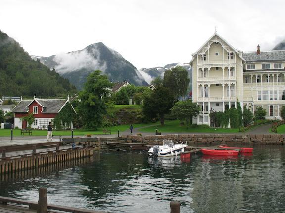 Kvikne's hotel en Balestrand
