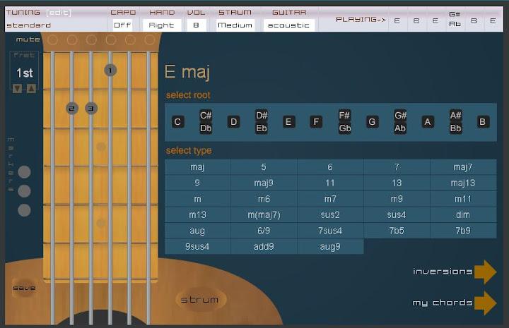 Guitarra en linea