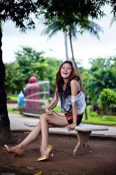 Myanmar Sexy Model, Kachin Girl Awn Sengs Hot Fashion Photos-2372