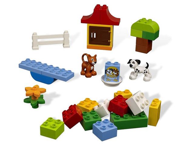 レゴ デュプロ 基本セット緑のコンテナ 4624