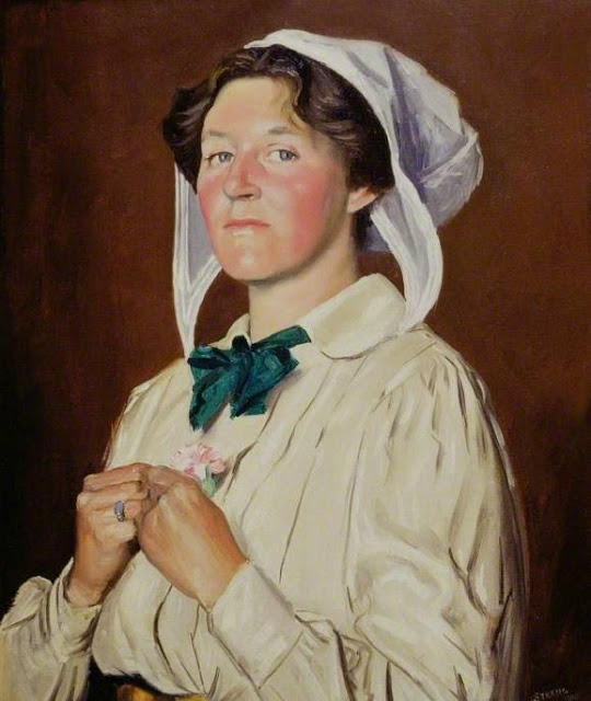 William Strang - Janet Elisabeth Ashbee, 1910