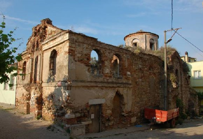 Byzantine church in Turkey for sale on Internet