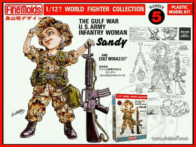 U.S. Army Infantry Woman