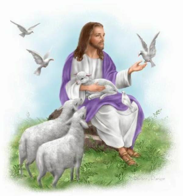 Chúa Giêsu & chim Bồ câu