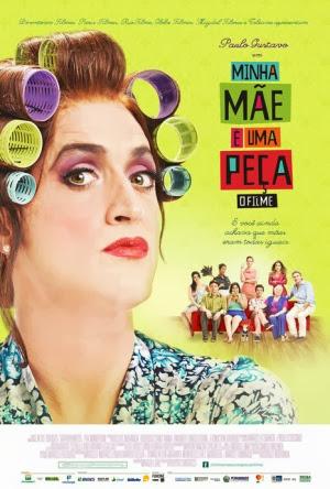 Filme Poster Minha Mãe é Uma Peça - O Filme DVDRip XviD & RMVB Nacional