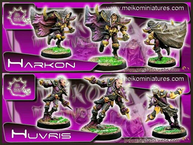 Elfos Oscuros Meiko Miniatures