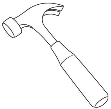 hammers free coloring pages coloring pages