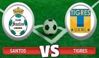 Santos Tigres vivo online Semifinal 13 mayo
