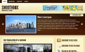 SMOOTHBOX Wordpress Theme