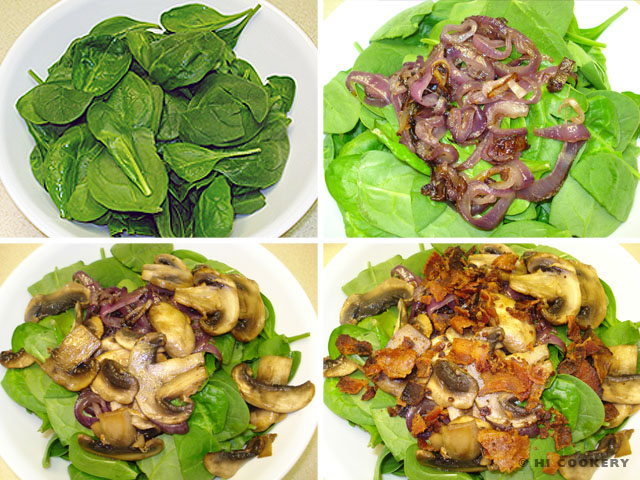 Spinach-Bacon Salad
