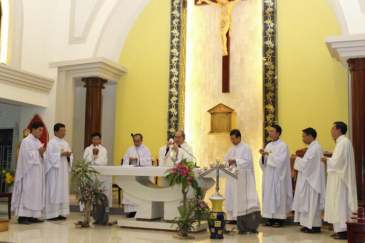 Thánh lễ và nghi thức khai giảng của các Chủng Sinh Lâm Bích - Giáo phận Nha Trang.