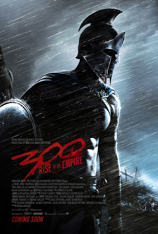 300 RISE OF AN EMPIRE - Teaser Poster