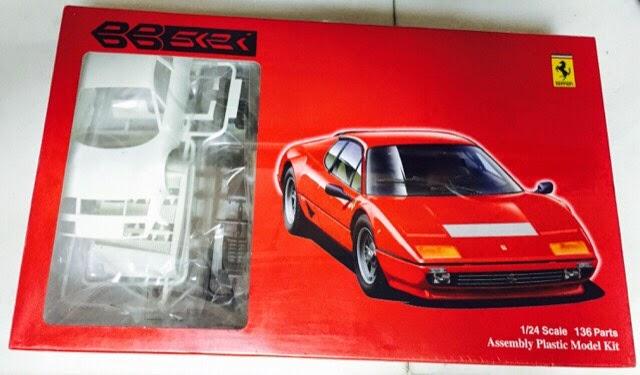 Ferrari 512BB 1:24 Fujimi